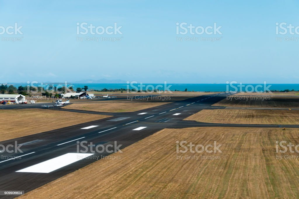 Nadi International Airport Fiji Islands Stock Photo