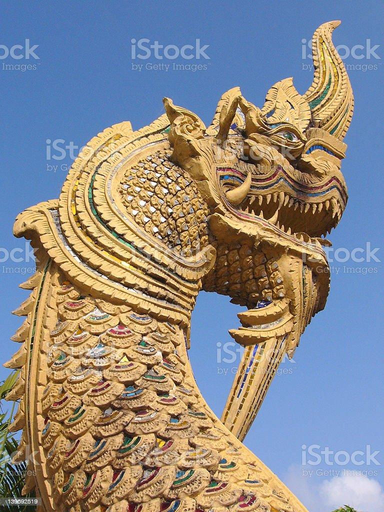 Naga royalty-free stock photo