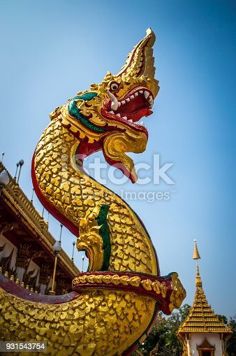 King of naga,The thai art sculpture