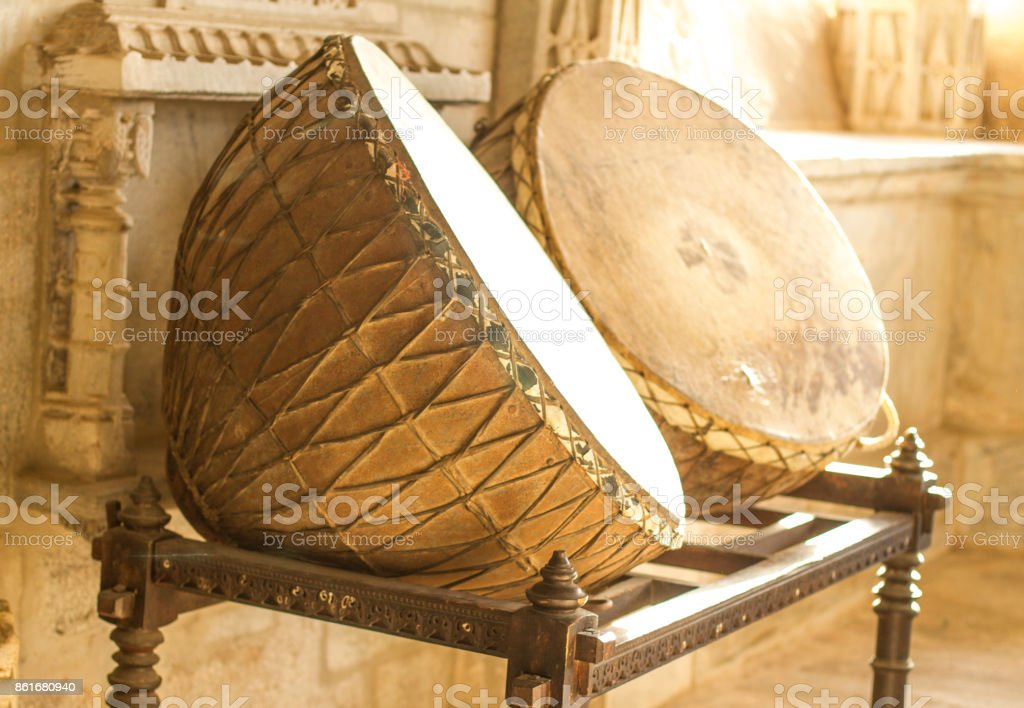 Nagara Drums stock photo