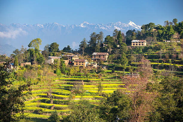 Nagarkot stock photo