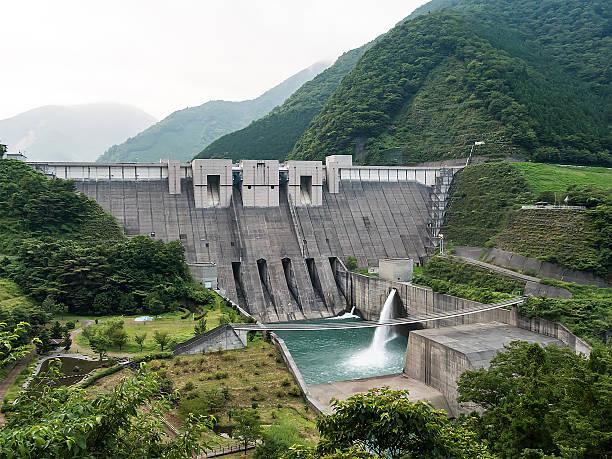 nagashima dam - landelement stockfoto's en -beelden