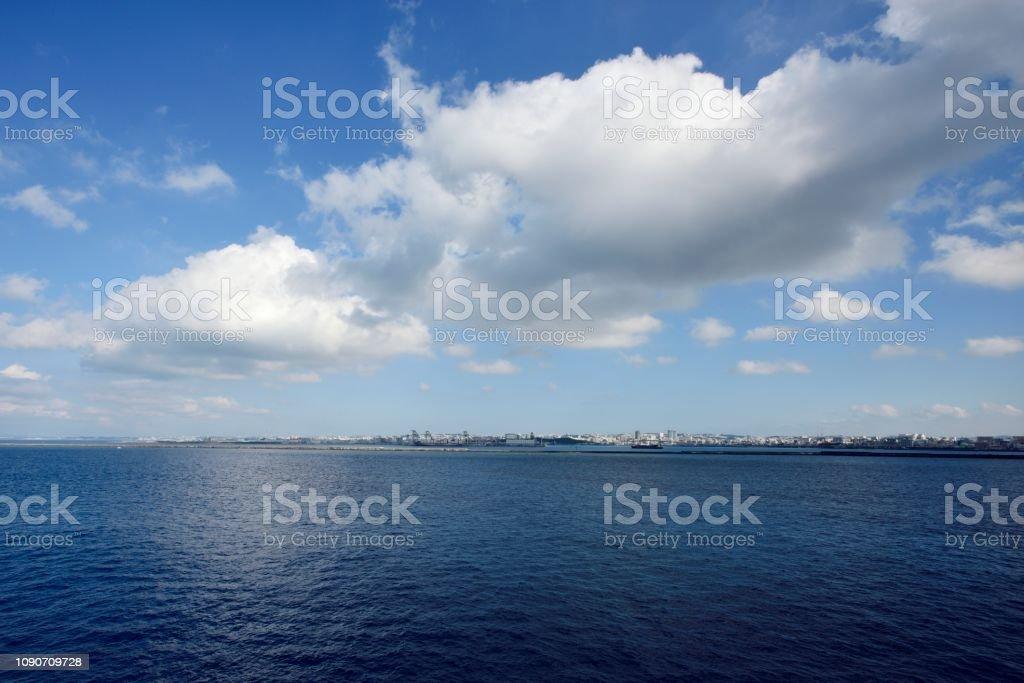 Naha Hafen in Okinawa, Japan – Foto
