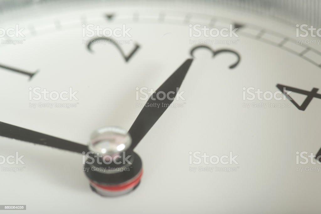 Nahaufnahme einer Uhr – Foto