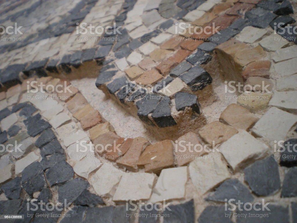 Nahaufnahme Mosaik - Royalty-free Ancient Stock Photo