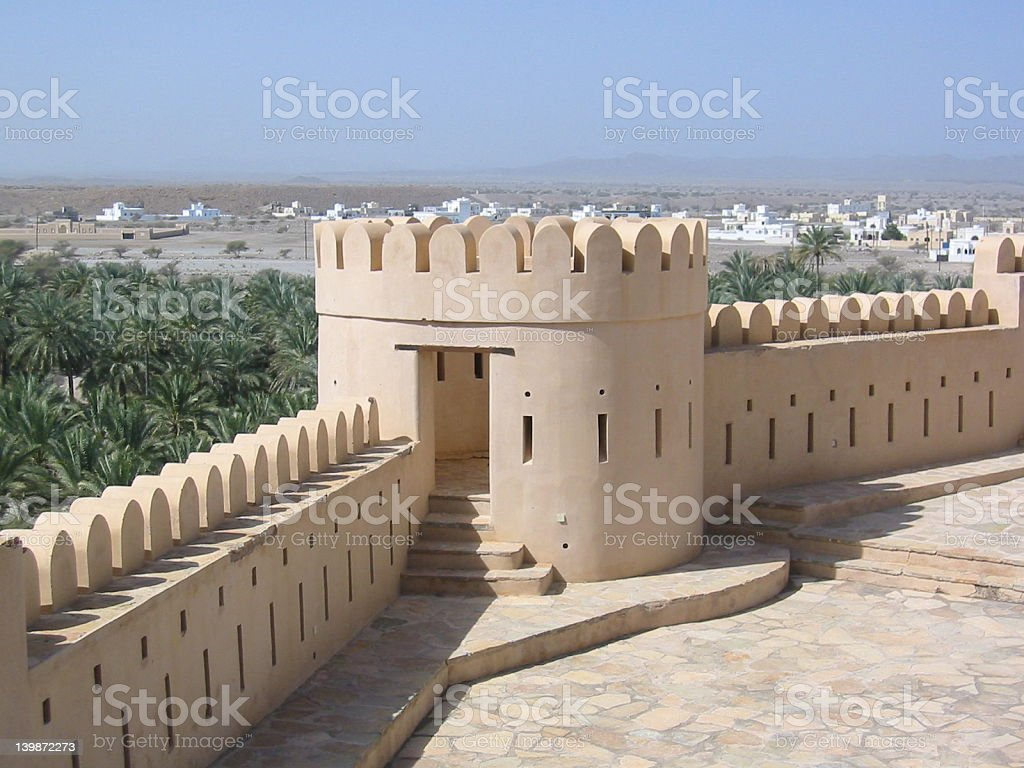 Nahkl Fort royalty-free stock photo