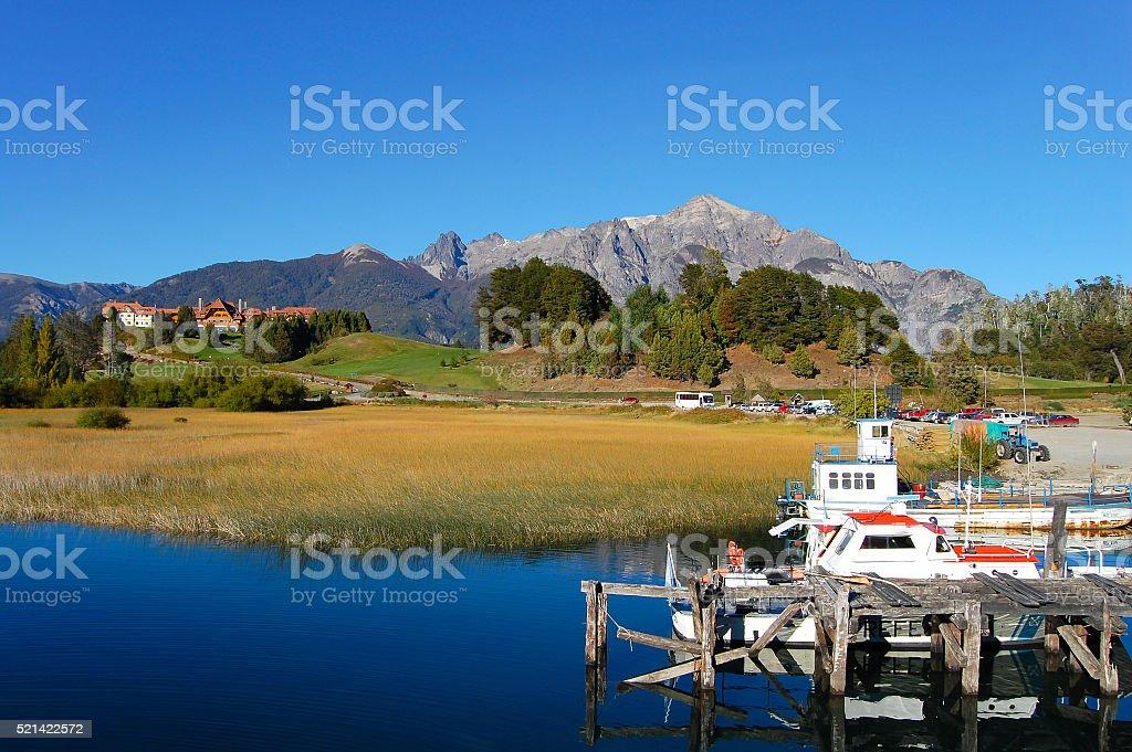 Nahuel Huapi Lake - Argentina stock photo