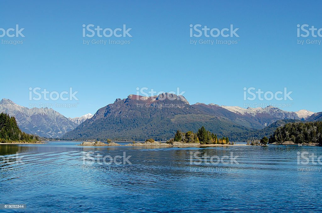 Nahuel Huapi Lake - Bariloche - Argentina stock photo