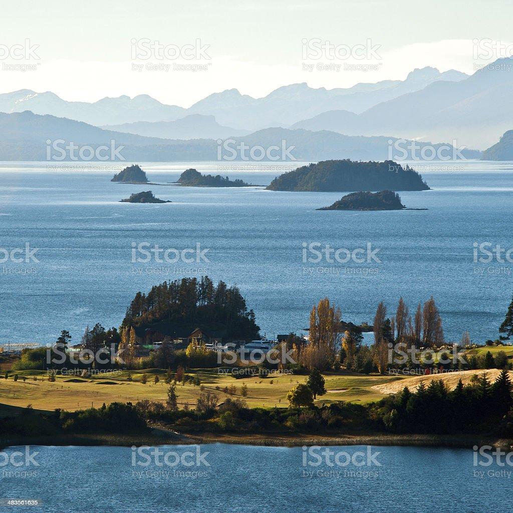 Nahuel Huapi lake, Patagonia Argentina, near Bariloche stock photo