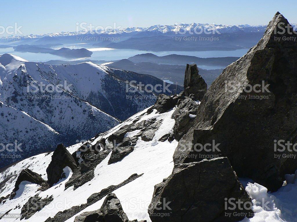 Nahuel Huapi Lake royalty-free stock photo