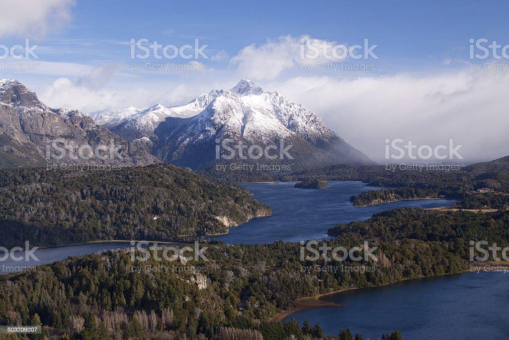 Nahuel Huapi National park stock photo