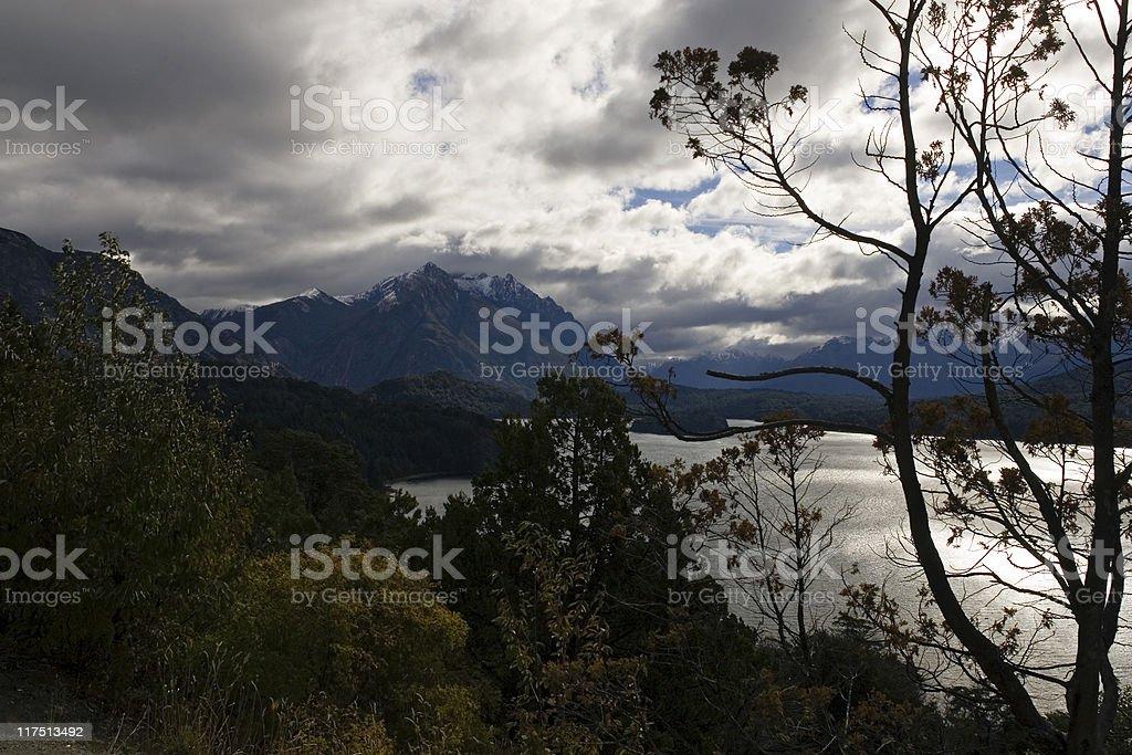 Nahuel Huapi (Bariloche) royalty-free stock photo