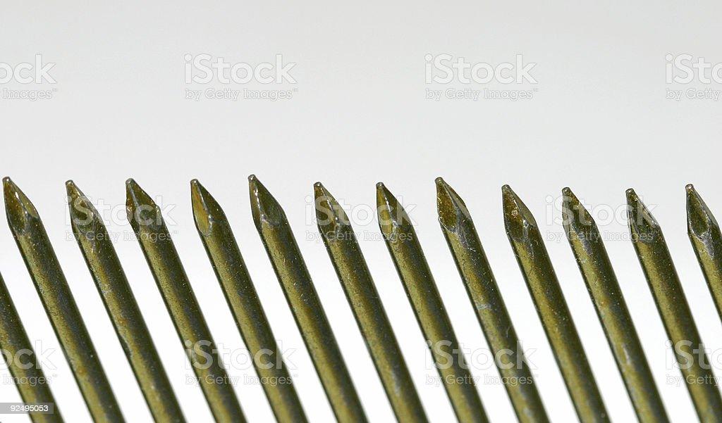 nail border royalty-free stock photo