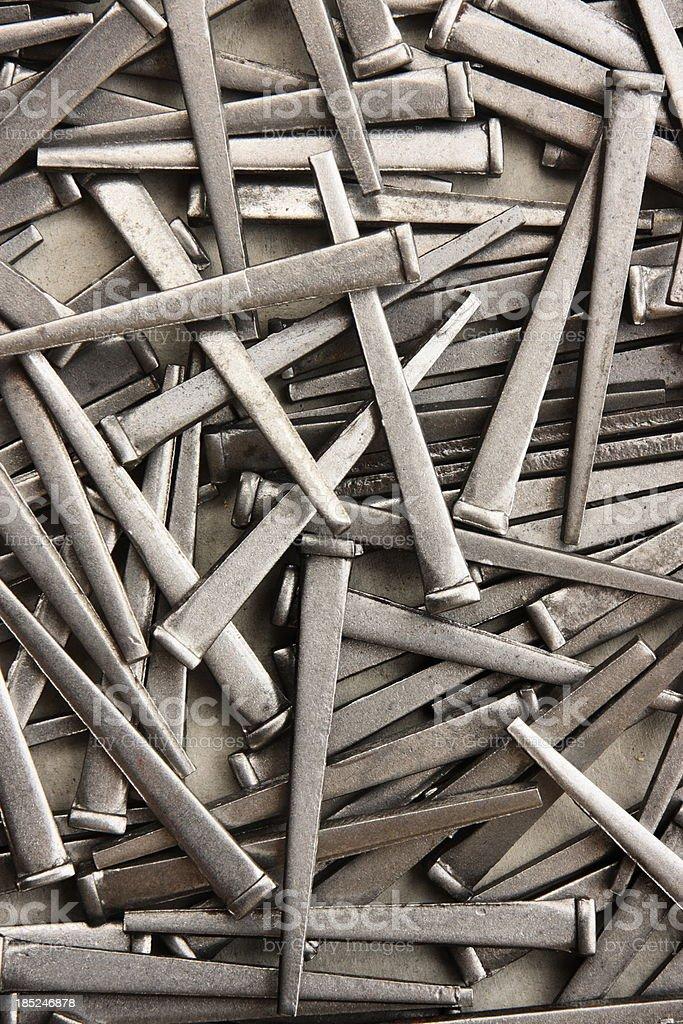Nail Construction Work Tool royalty-free stock photo