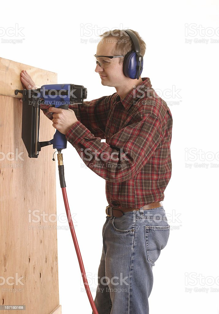 Nail Gun - Royalty-free Building - Activity Stock Photo
