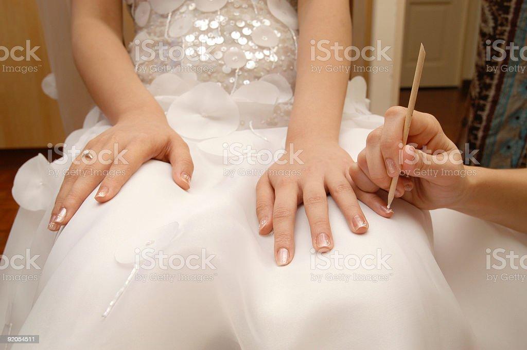 Nail Painting royalty-free stock photo