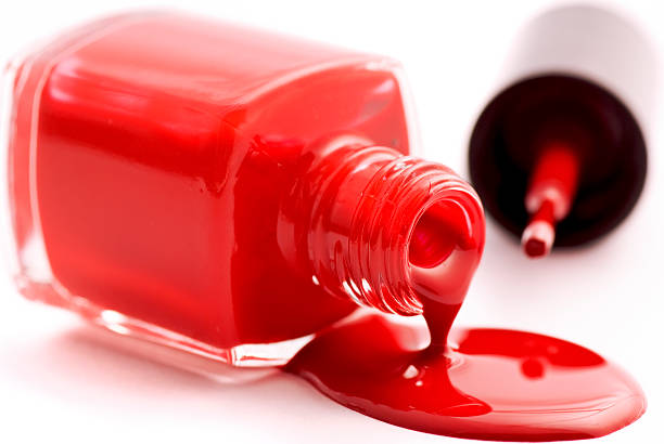 Image result for nail polish spill images