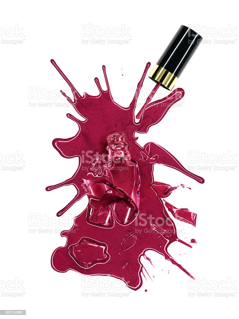 Nail Polish royalty-free stock photo