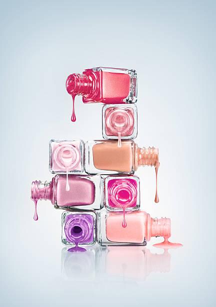 nail polish. - enamel stock photos and pictures