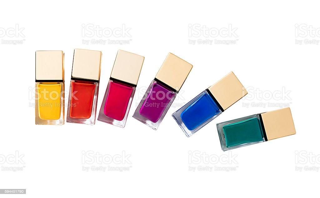 nail polish stock photo