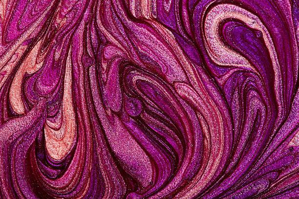 Nail polish texture stock photo