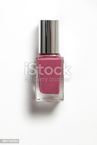 Nail polish with clipping path and shadow