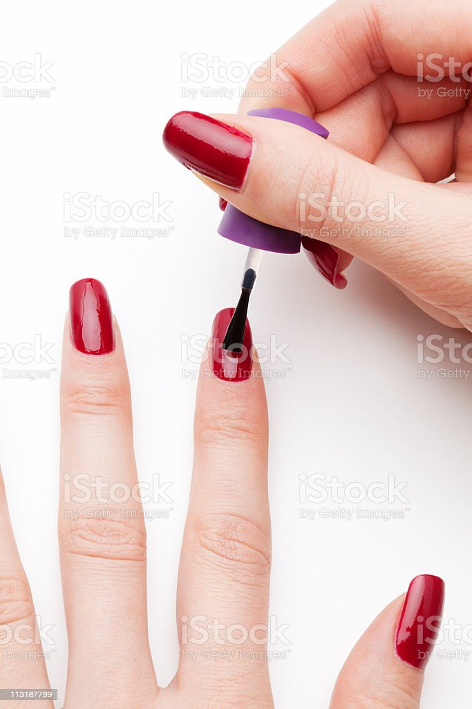 Nails care royalty-free stock photo