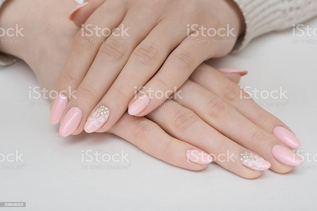 nails stock photo