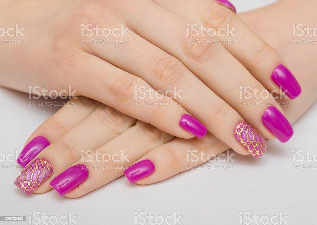 nail, pink, manicure, nails, hand, woman, polish, young, white,...
