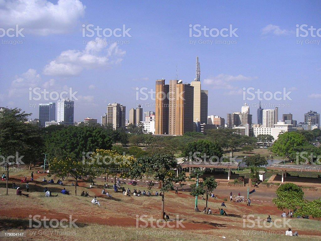 Nairobi City stock photo