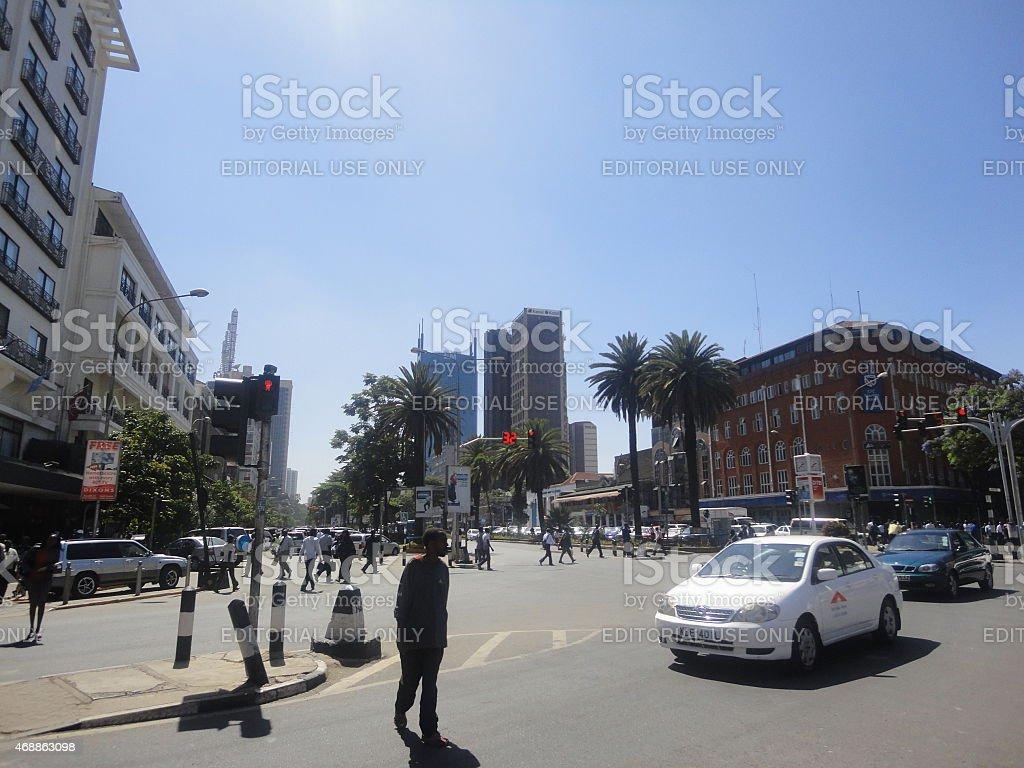 Nairobi, Kenya stock photo