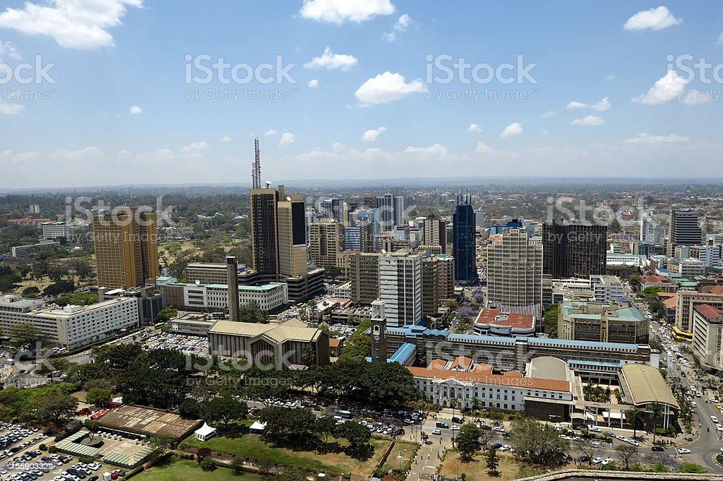 Nairobi (Africa) royalty-free stock photo