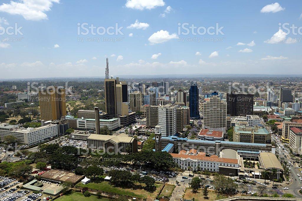 Nairobi (Africa) stock photo