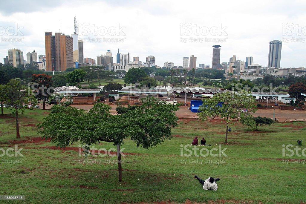 Nairobi stock photo