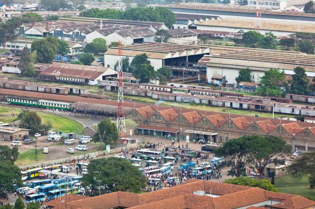 Nairobi Railway Station, Kenya, editorial stock photo