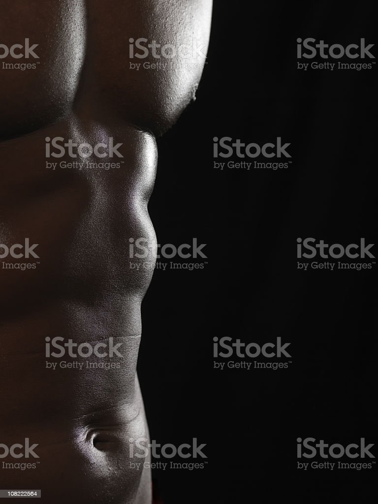 Naked Body royalty-free stock photo