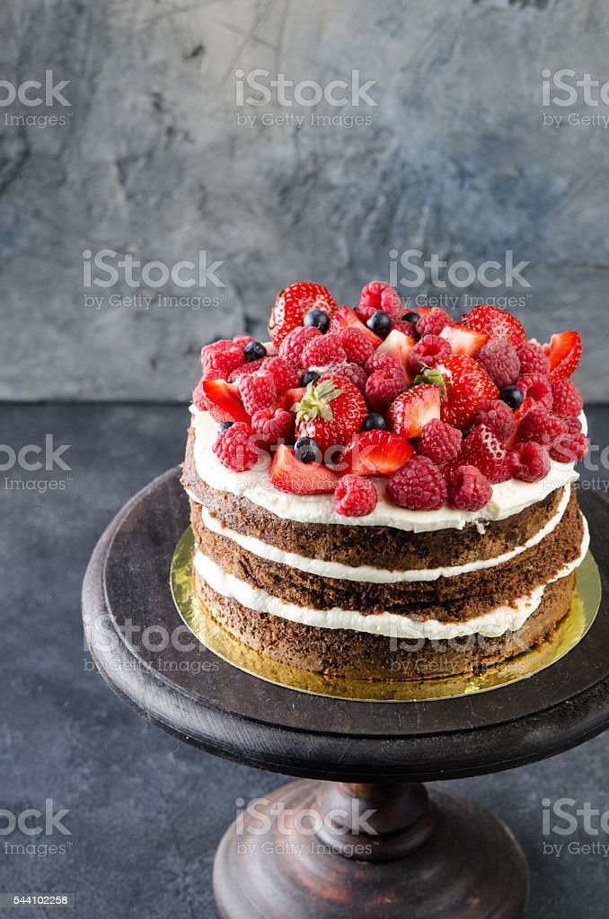 Raspberry Chocolate Layer Cake | Recipe | Chocolate
