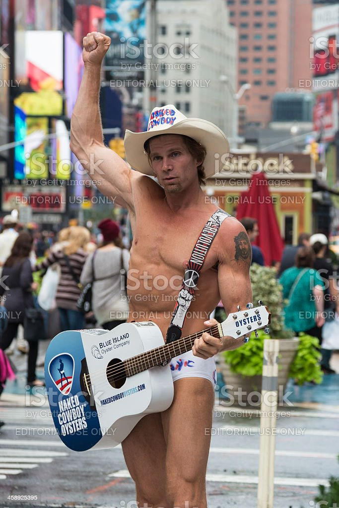 The Famous Naked Cowboy - Times Square - New York City
