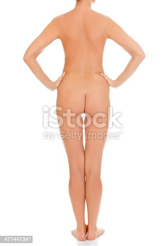 istock Naked female back 471441341