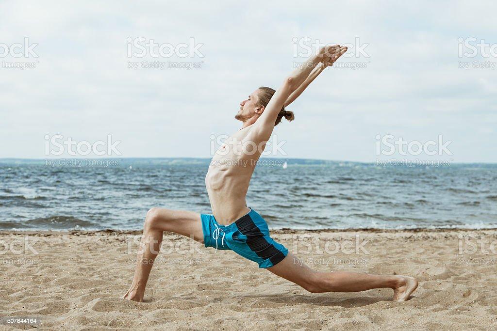 Strand nackt sport
