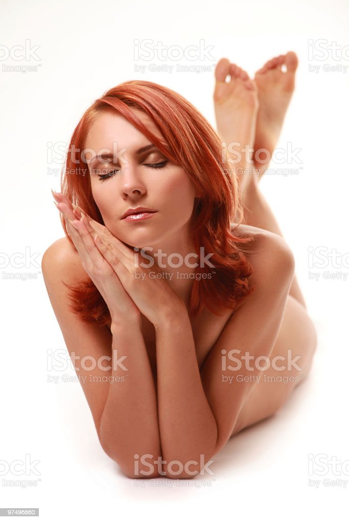 naked royalty-free stock photo