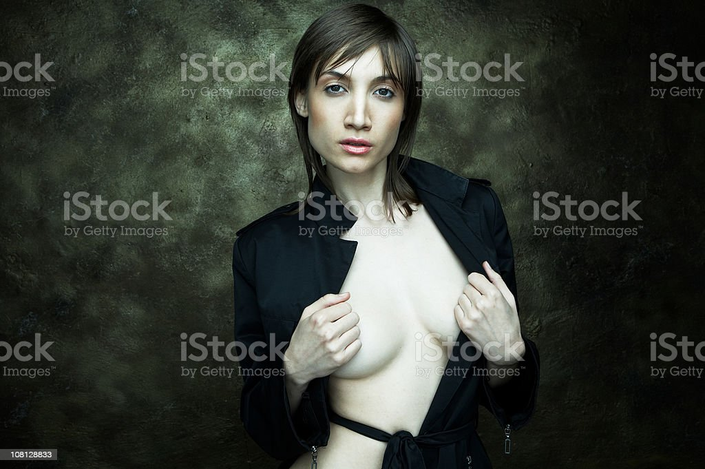 woman-nude-open-shirt-posing