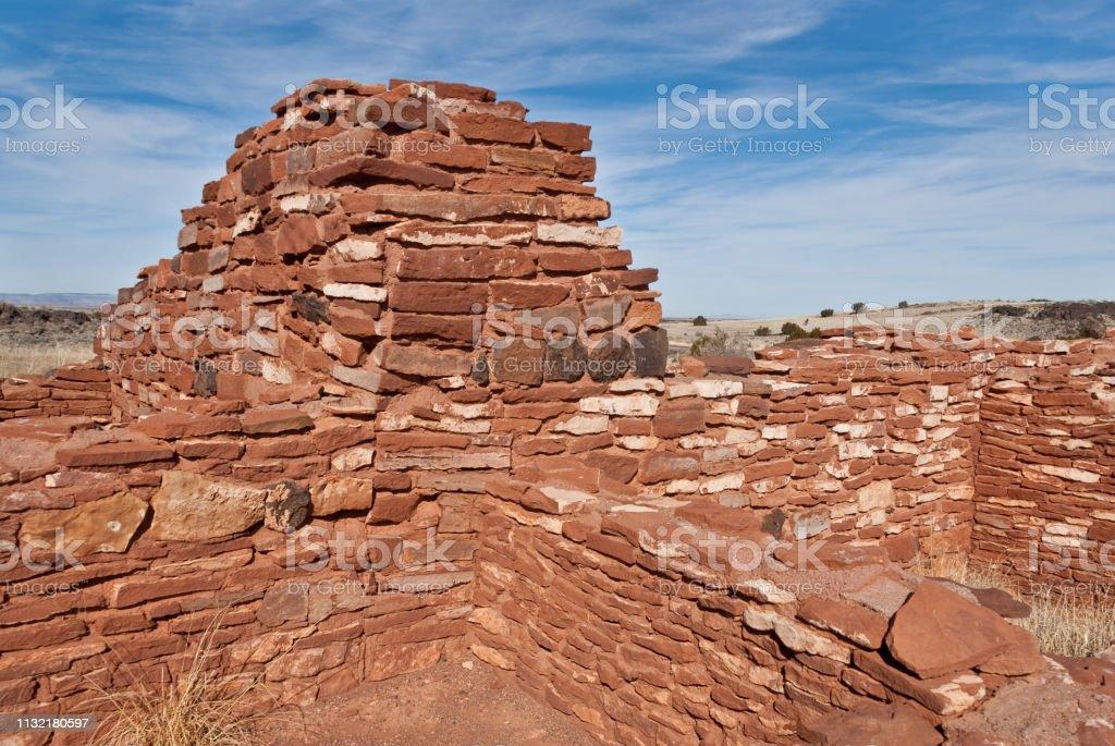 Nalakihu Pueblo stock photo