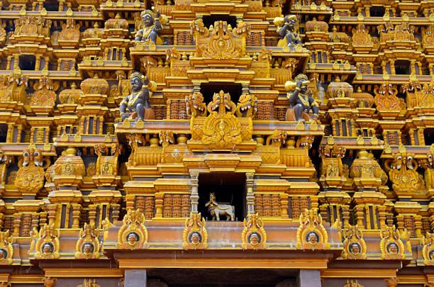 Nallur Kandaswamy Temple in Jaffna stock photo