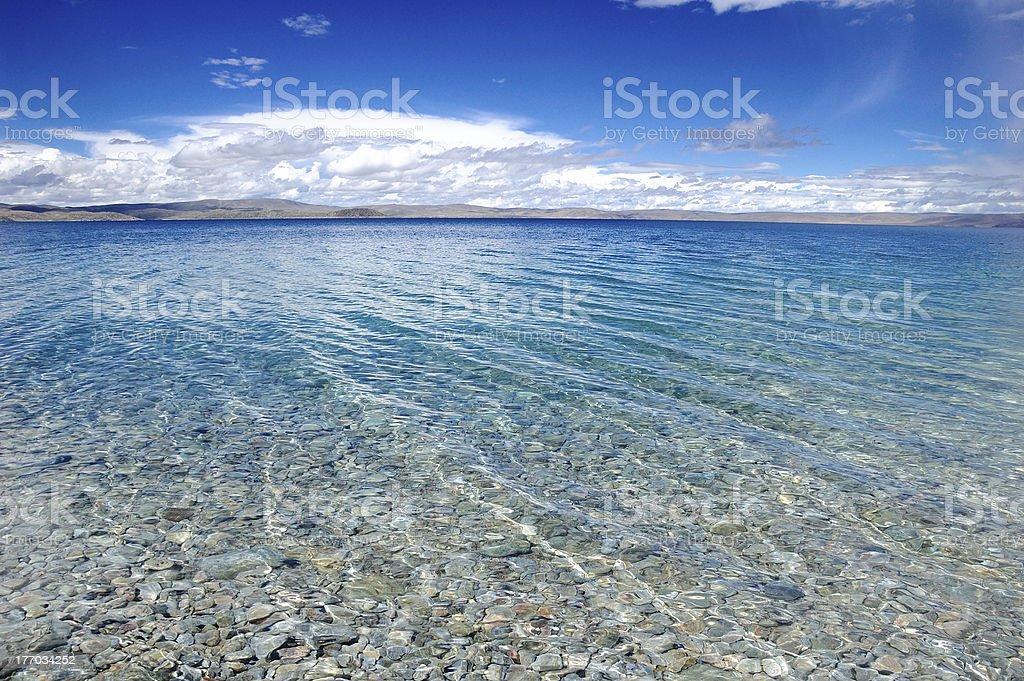 Namco lake stock photo
