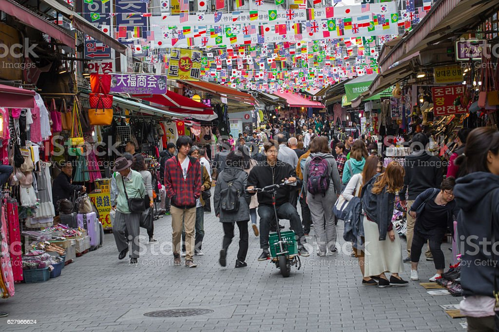Namdaemun Market in Seoul. Namdaemun Market stock photo