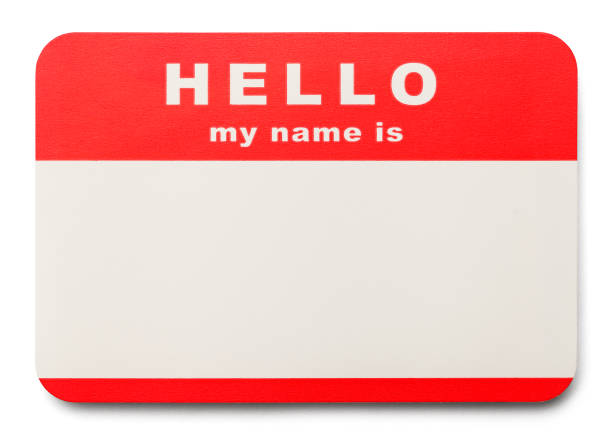 name tag - identity stock photos and pictures
