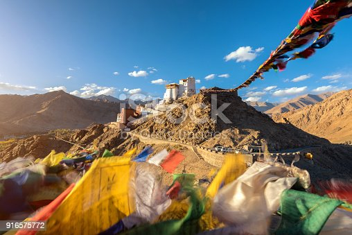 Namgyal Tsemo Gompa in Leh, Ladakh, India.