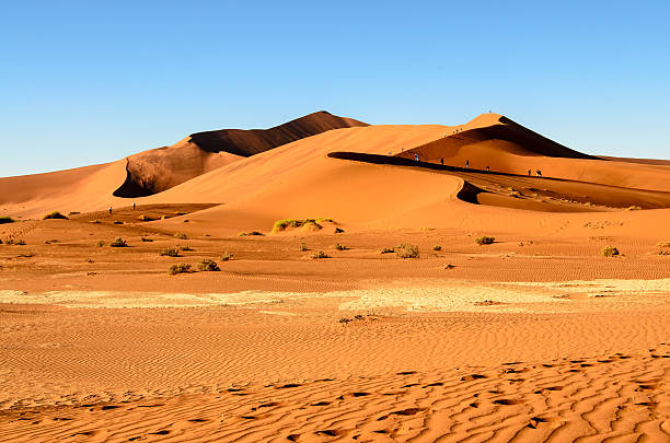 Namib desert landscape Awesome view of the Namib desert namib desert stock pictures, royalty-free photos & images