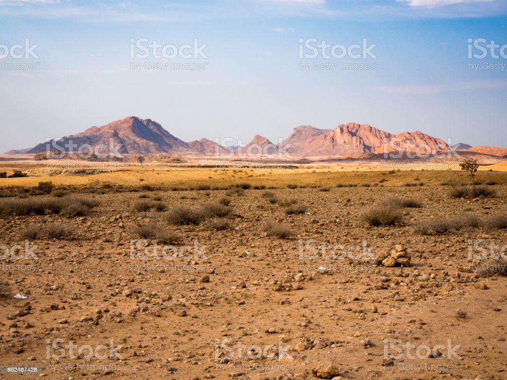 Namib Desert, near Tropic of Capricorn, Sossusvlei, Namibia stock photo